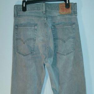 Men's LEVI'S 513 Gray Slim Straight 32